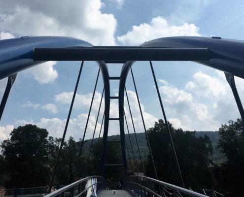 Biegetechnik für eine Brücke in Heiligenstadt