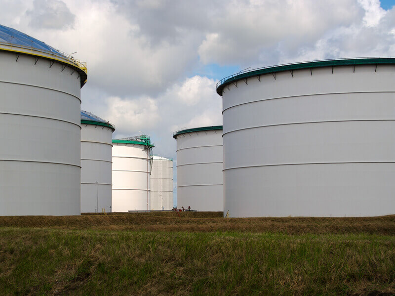 Gebogene Blechsegmente für Tanks